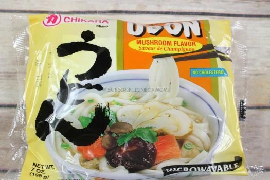 Chikara Microwave Udon Mushroom Flavor