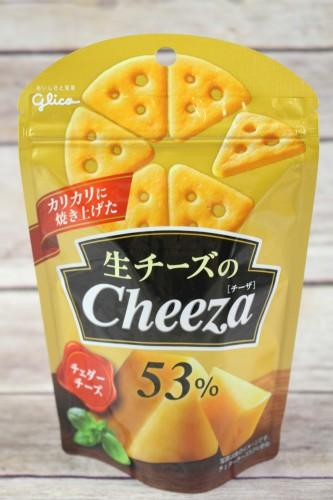 Glico Biscuit Snack Cheeza Cheddar