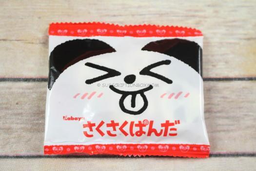 Kabaya Sakusaku Panda Cookie