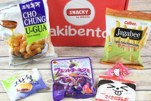 Snacky By Akibento January 2018 Review