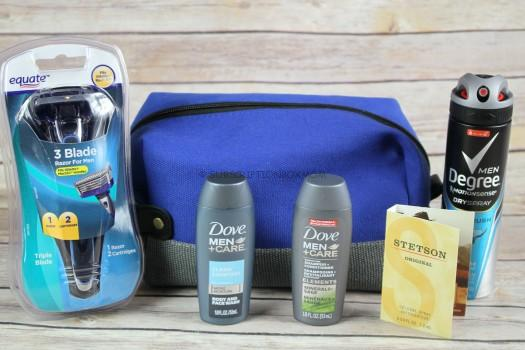 Walmart Limited Edition Men's Grooming Bag 2018 Review