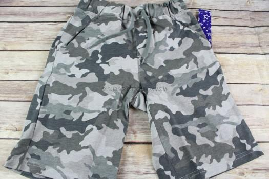 93115d2477d8e Camo Knit Short $16.95 These camo shorts have pockets and a real working  drawstring. These are made of 60% cotton and 40% polyester.
