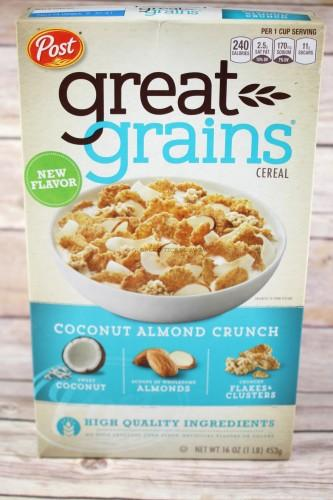 Post Great Grains Coconut Almond Crunch