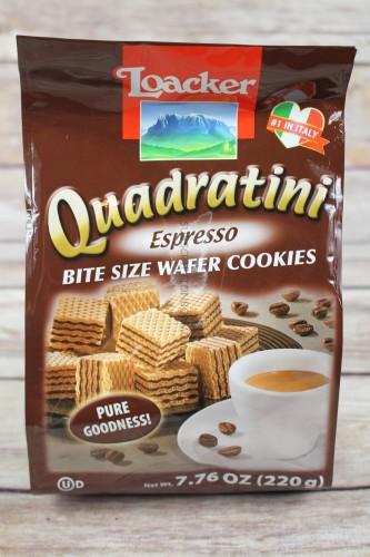 Loacker Quadratini Expresso Wafers