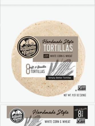 La Tortilla Factory Handmade Style Tortillas