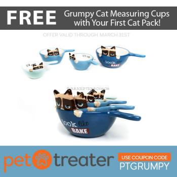 Pet Treater Cat Pack March 2018 Coupon