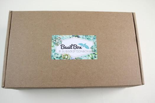 BasilBox April 2018 Gardening Subscription Box Review
