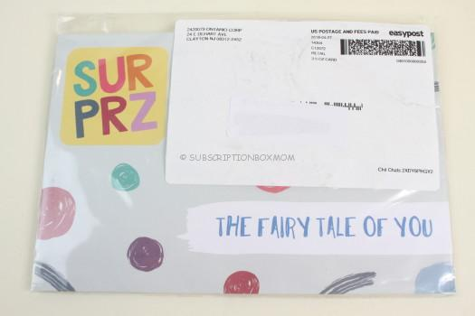 Surprz May 2018 Personalized Sticker Subscription Review