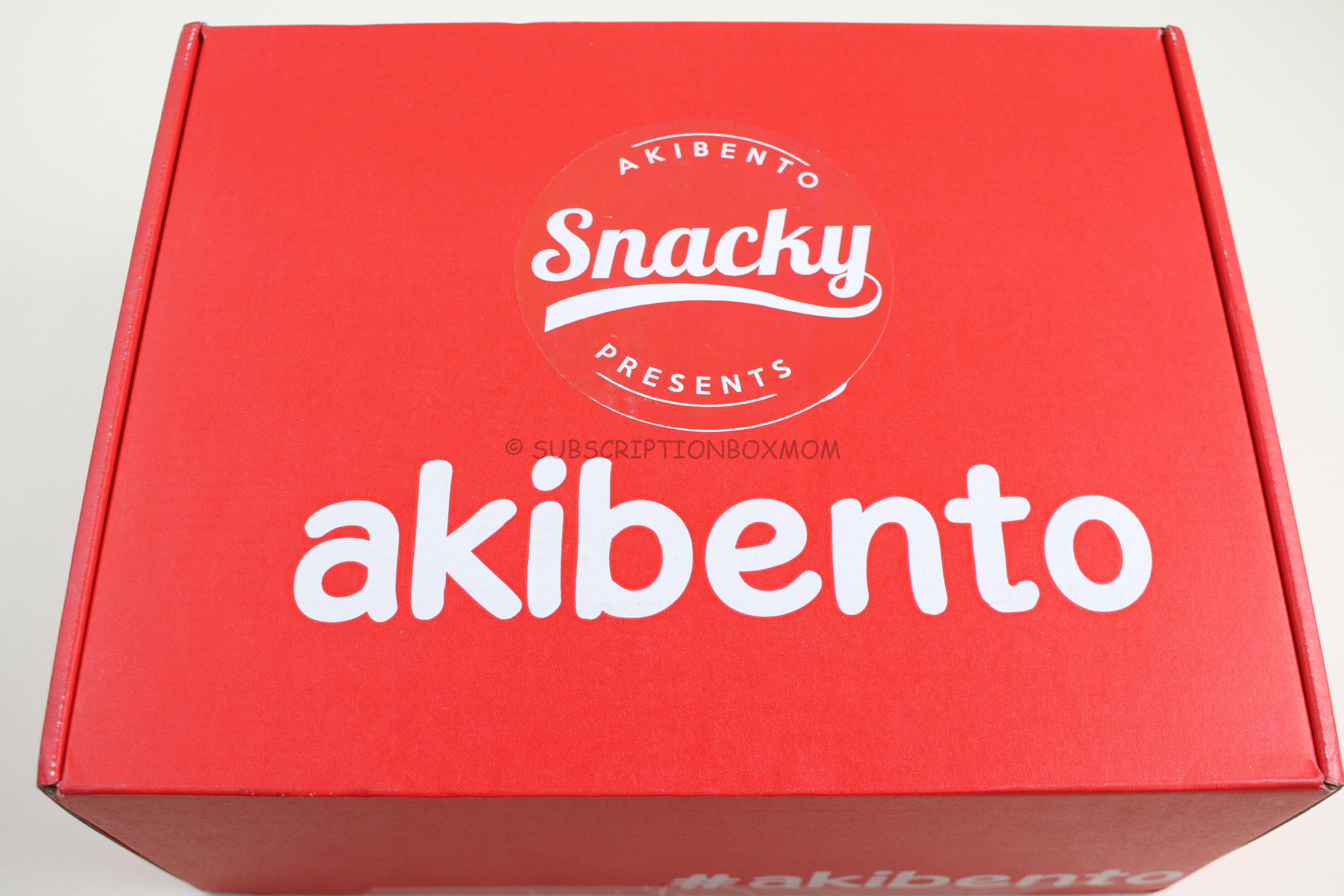 Snacky By Akibento April 2018 Review + Coupon