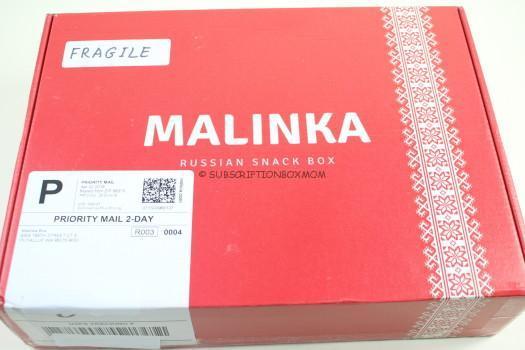 Malinka May 2018 Russian Snack Box Spoilers