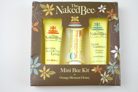 The Naked Bee Orange Honey Blossom Mini Kit