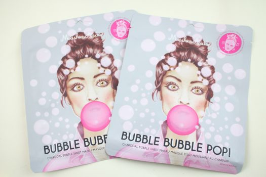 MaskerAide Charcoal Bubble Sheet Masks (2 Count)