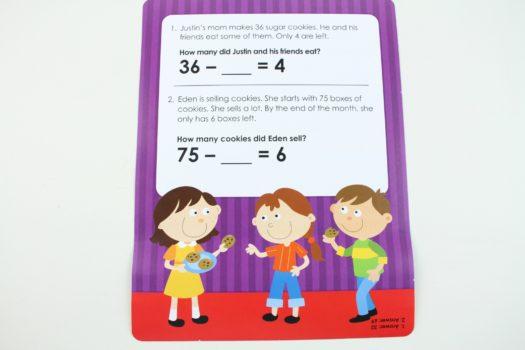 Mini Math Activity Sheet
