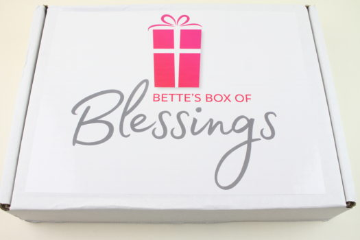 Bette's Box of Blessings June 2018 Review