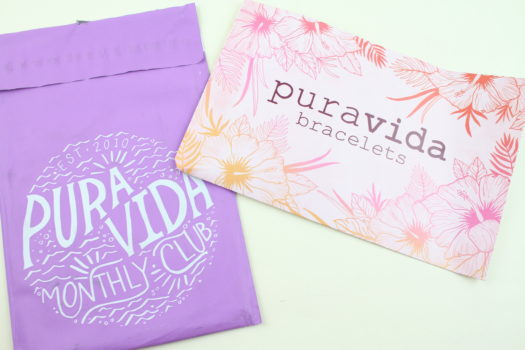 June 2018 Pura Vida Bracelets Review