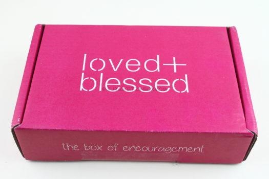 Loved & Blessed July 2018 Review