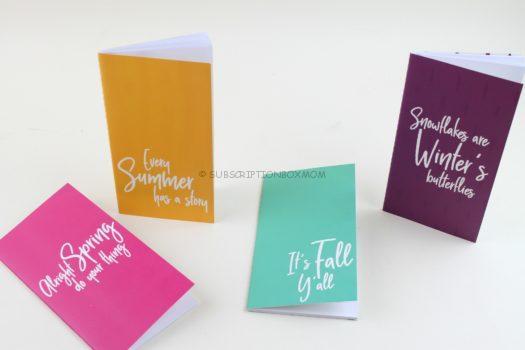 Seasonal Notebooks