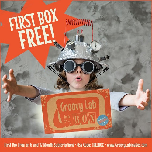 Groovy Lab In a Box Free Box with Subscription