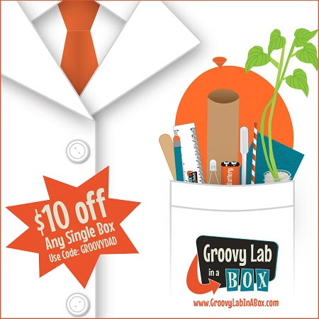 Groovy Lab In a Box Father's Day 2018 Coupon