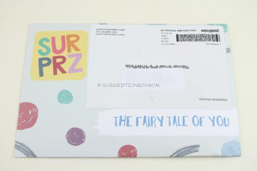 Surprz July 2018 Personalized Sticker Subscription Review