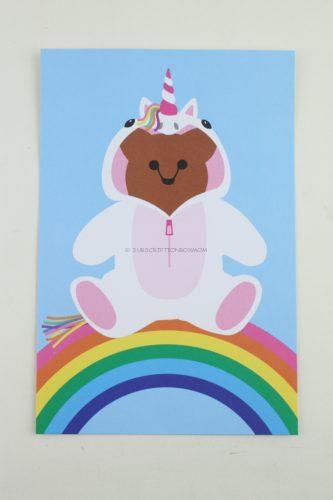 Bunny Bear Post Card