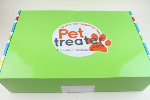 Pet Treater Box August 2018 Coupon