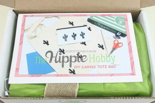 The Hippie Hobby Box July/August 2018 Review
