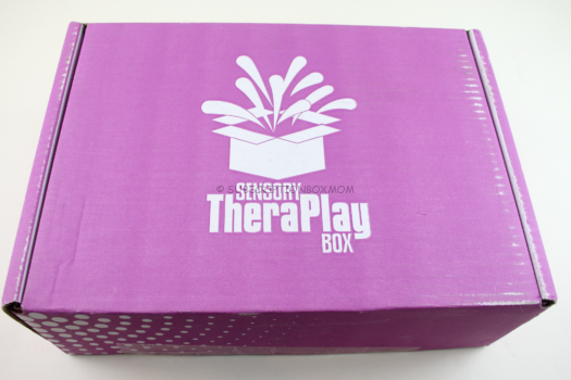 Sensory TheraPlay Box August 2018 Review