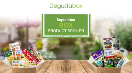 Degustabox September 2018 Spoilers