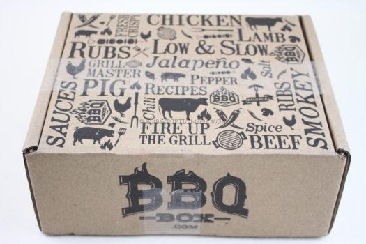 BBQ Box Welcome Box August 2018 Review