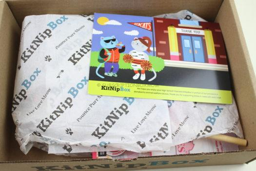 KitNipBox September 2018 Cat Subscription Box Review