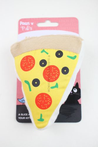 Paws 'N Purrs Pizza Pillow