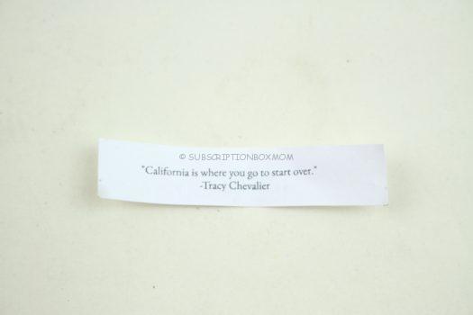 Chinatown Fortune Cookie