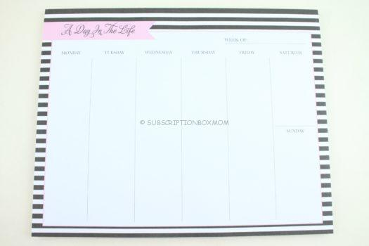 A Day In The Life Planner