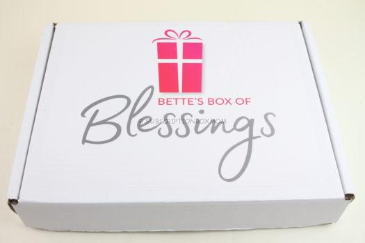 Bette's Box of Blessings September 2018 Review