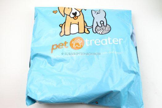 Pet Treater Cat Pack September 2018 Review