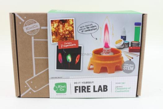 KiwiCo Fire Lab Project Kit Review