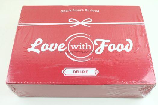 October 2018 Love with Food Review