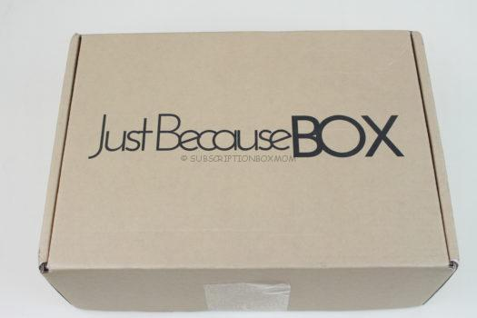 Just Because Box September 2018 Review