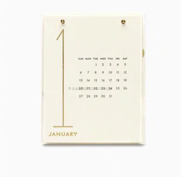 Kate Spade 2019 Desktop Calendar
