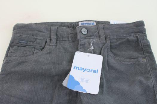 Mayoral - Basic Slim Fit Cord Pants