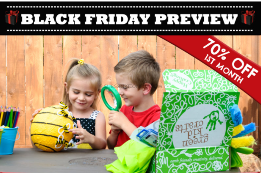 Green Kid Crafts Black Friday Preview 2018 Coupons