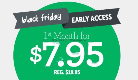 KiwiCo Black Friday 2018 Preview 60% Coupon Code