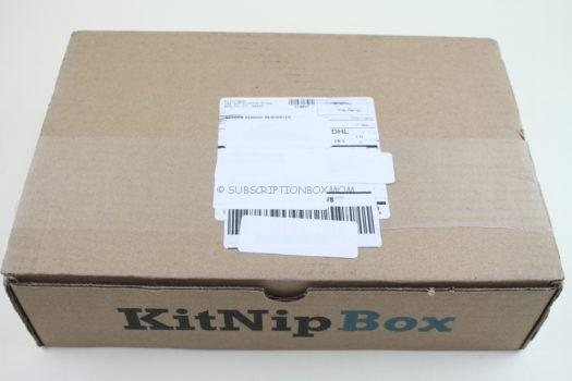 KitNipBox December 2018 Cat Subscription Box Review