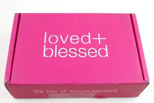 Loved & Blessed January 2019 Review