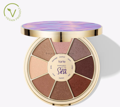 Rainforest of the Sea limited-edition eyeshadow palette