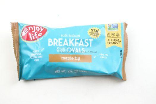 Enjoy Life Foods Breakfast Fruit + Oat Ovals