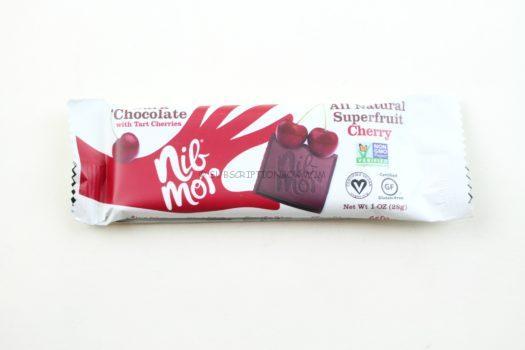 Nibmor Cherry Chocolate Bar