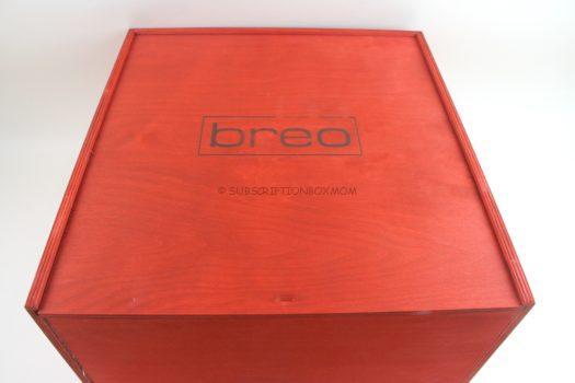 brēō box Winter 2018 Review
