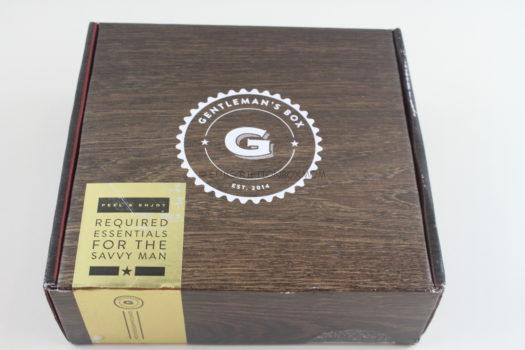Gentleman's Box January 2019 Review